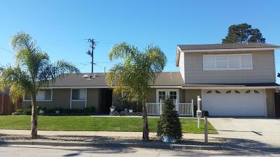 Santa Maria CA Single Family Home For Sale: $579,000