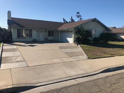 Santa Maria Single Family Home For Sale: 1238 Valley Oak Place