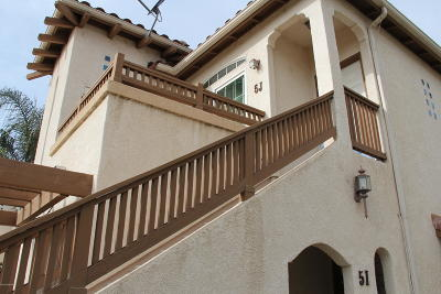 Santa Barbara County Single Family Home For Sale: 310 E McCoy Lane #5J