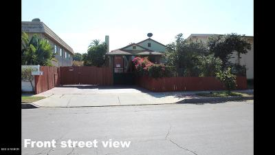 Santa Barbara County Multi Family Home For Sale: 626 E Mill Street