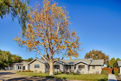 Santa Ynez Single Family Home For Sale: 2881 Baseline Avenue