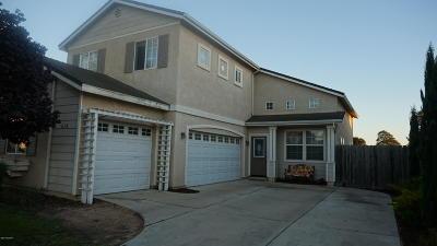 Santa Maria CA Single Family Home For Sale: $415,000