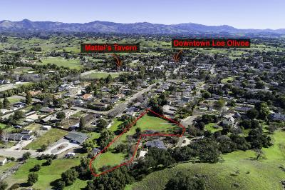 Los Olivos Residential Lots & Land For Sale: 2213 Keenan Road