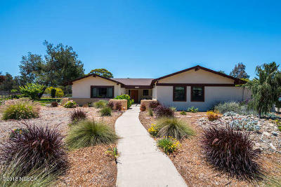 Lompoc Single Family Home For Sale: 1360 Blaisdel Lane