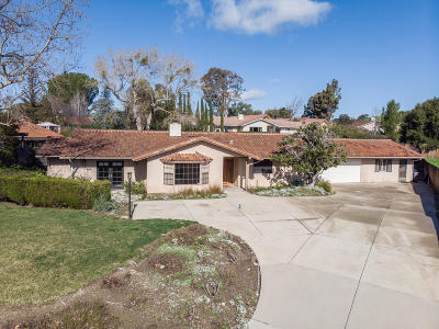 Solvang Single Family Home For Sale: 1915 Viborg Road