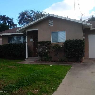 San Luis Obispo County Single Family Home For Sale: 361 Lilac Drive