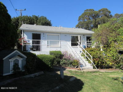 Pismo Beach Multi Family Home For Sale: 481 Ocean View Avenue