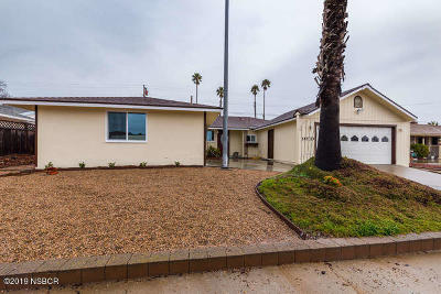 Santa Barbara County Single Family Home For Sale: 4083 Polaris Avenue
