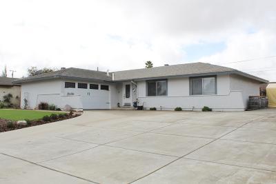 Santa Maria CA Single Family Home Active Under Contract: $414,900