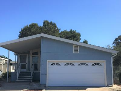 Santa Maria CA Single Family Home For Sale: $119,900