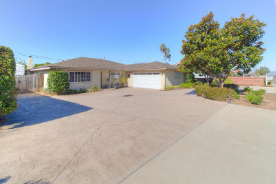 Arroyo Grande Single Family Home For Sale: 2701 S Halcyon Road