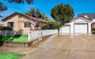 Solvang Single Family Home For Sale: 420 5th Street