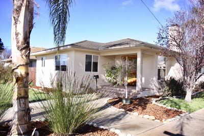 San Luis Obispo County Single Family Home For Sale: 302 W Cherry Avenue