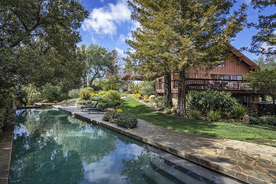 Santa Ynez Single Family Home For Sale: 4251 Long Valley Road