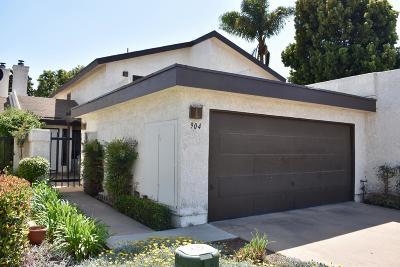 Santa Maria Single Family Home For Sale: 904 Regent Court