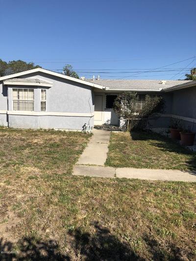 Lompoc Single Family Home For Sale: 3878 Via Mondo