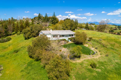 Solvang Single Family Home For Sale: 987 Fredensborg Canyon Road