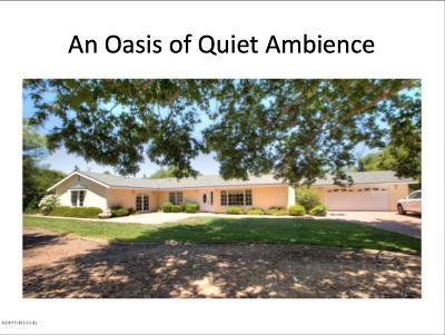 Santa Ynez Single Family Home For Sale: 3205 E Highway 246 E