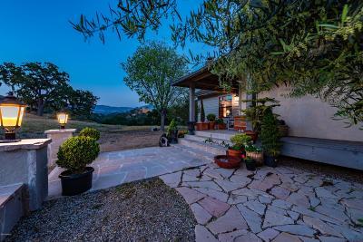 Santa Ynez Single Family Home For Sale: 4301 Tims Road