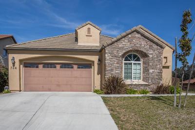 Lompoc Single Family Home For Sale: 736 Pluto Avenue