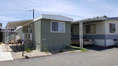 Santa Maria Single Family Home For Sale: 1600 E Clark Avenue #110