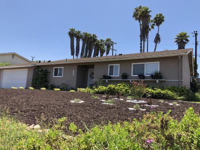 Santa Maria Single Family Home For Sale: 1116 Via Alta