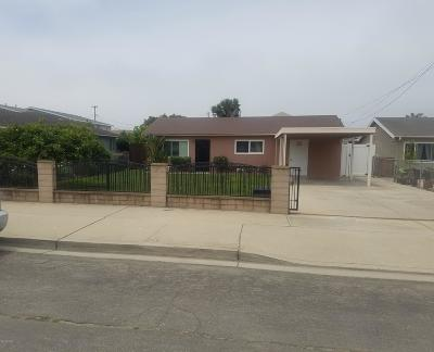 San Luis Obispo County Single Family Home For Sale: 1620 21st Street