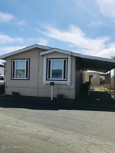 Lompoc Single Family Home For Sale: 610 E Pine Avenue #44