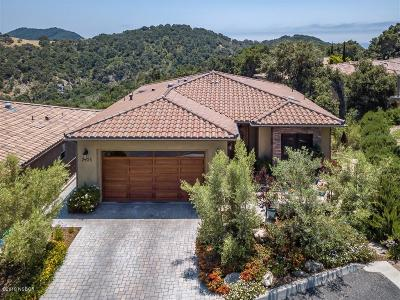 San Luis Obispo County Single Family Home For Sale: 2925 Aerie Lane