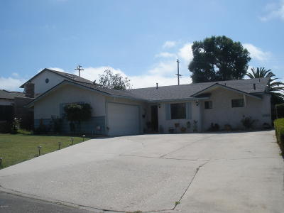 Lompoc Single Family Home For Sale: 425 S B Street