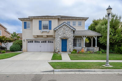 Santa Maria Single Family Home For Sale: 2710 Niverth Place