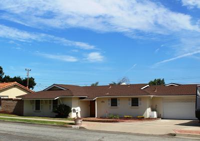 Santa Maria Single Family Home For Sale: 1323 Glines Avenue