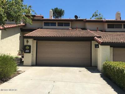 Solvang Single Family Home For Sale: 644 Floral Drive