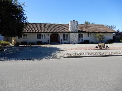 Santa Maria Single Family Home For Sale: 946 Diamond Drive