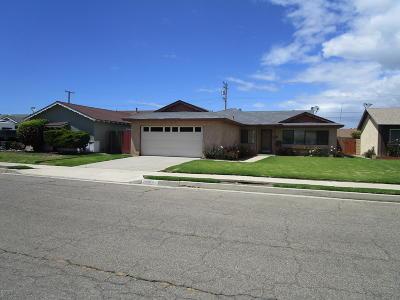 Lompoc Single Family Home For Sale: 1009 W Cherry Avenue
