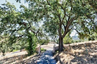 San Luis Obispo County Single Family Home For Sale: 10192 Suey Creek Road