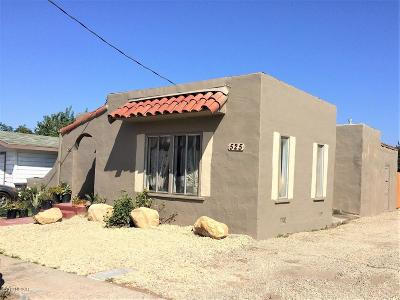 Los Alamos Single Family Home For Sale: 525 Waite Street