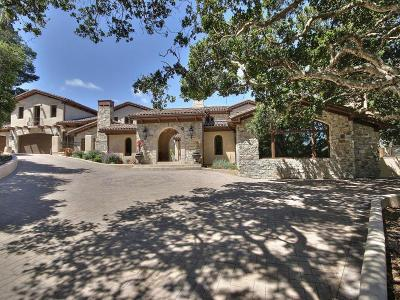 Monterey Single Family Home For Sale: 7820 Monterra Oaks Rd