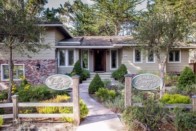Pebble Beach Single Family Home For Sale: 2862 Congress Rd