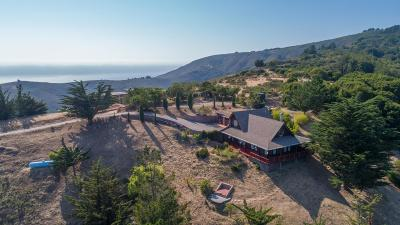 Big Sur Single Family Home For Sale: 46977 Clear Ridge Rd