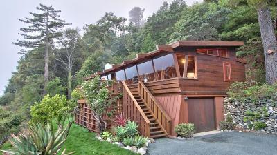 Big Sur Single Family Home For Sale: 51410 Partington Ridge Rd