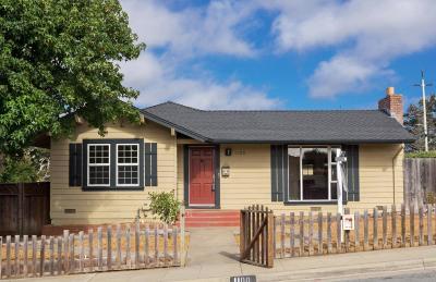 SEASIDE Single Family Home Sold: 1100 San Lucas St