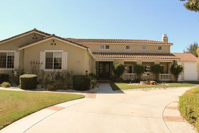 HOLLISTER Single Family Home For Sale: 3022 Monte Cristo Ct