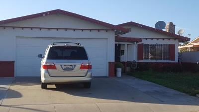 SALINAS Single Family Home Contingent: 1645 Ukiah Way