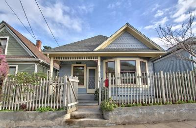 PACIFIC GROVE Single Family Home Sold: 215 Congress Ave