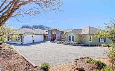 Woodside Single Family Home For Sale: 12424 Skyline Blvd