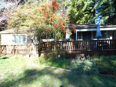 BEN LOMOND CA Single Family Home Sold: $575,000