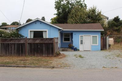 Soquel Single Family Home For Sale: 2831 Daubenbiss Ave