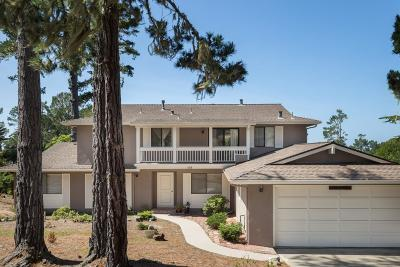 Pebble Beach Single Family Home For Sale: 3058 Strawberry Hill Rd