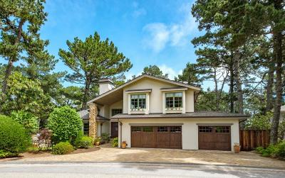 Pebble Beach Single Family Home For Sale: 4001 Costado Rd